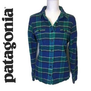Patagonia Fjord Flannel Button Up Shirt